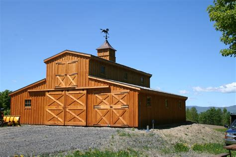 Monitor Style Barn by Monitor Style Pole Barns