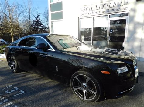 2016 rolls royce wraith coupe solution auto lease