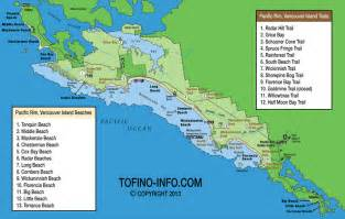 tofino canada map best beaches for tofino bc with pictures descriptions