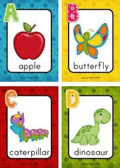 printable letters made from objects here is a cute set of alphabet cards for your classroom