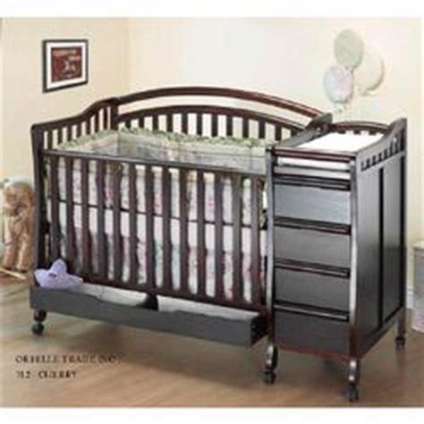 Mini Crib With Drawers Orbelle M312c Crib N Bed 312 Mini Portable Size Crib Cherry Coupons And Discounts May Be