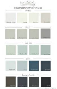 best colors for best selling benjamin paint colors