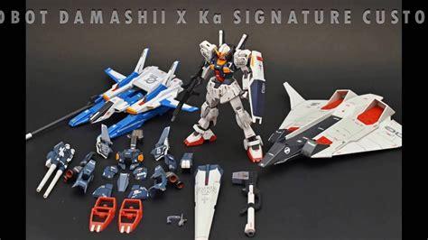 Robot Damashii X Gundam robot spirits robot damashii x ka signature gundam mk ii