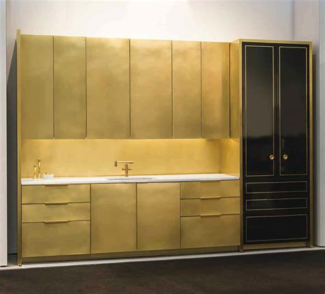 brass kitchen a look at amuneal s brass focused designs design