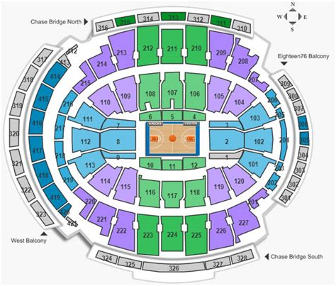 Square Garden Seating Chart Knicks by Photos From The New Bridge Seats At A Knicks
