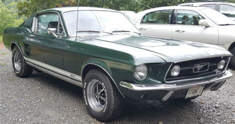1967 ford mustang fastback green 1967 mustang fastback a code 289 4 speed moss green