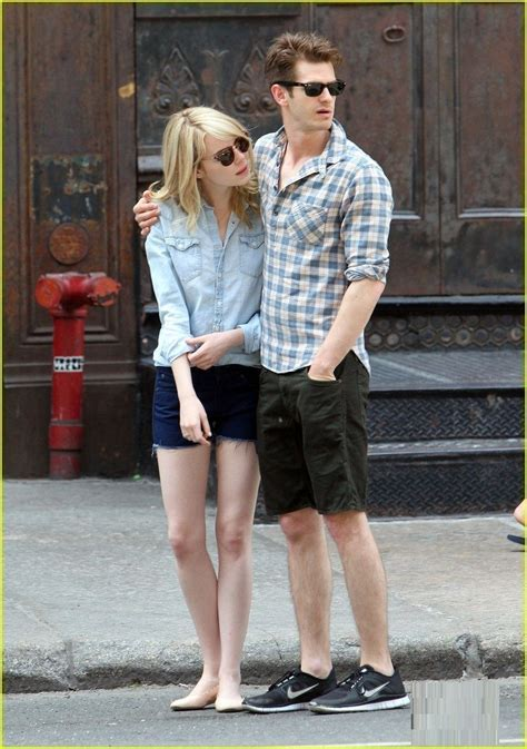 emma stone andrew garfield emma stone s and andrew garfield s split is one of the