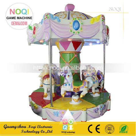 outdoor carousel decoration noqi 5 seats amusement rides outdoor