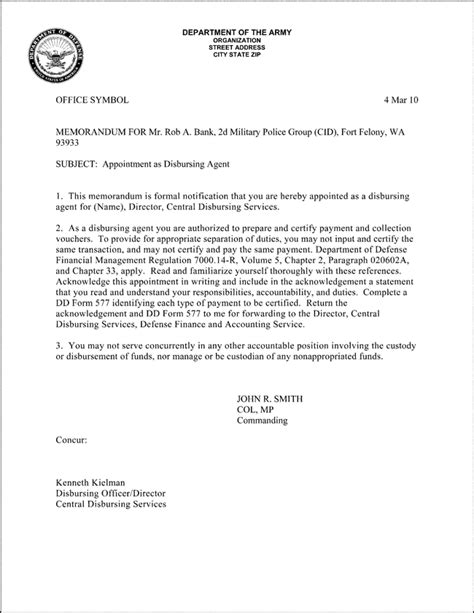 army appointment letter sle us army appointment letter 28 images 28 us army