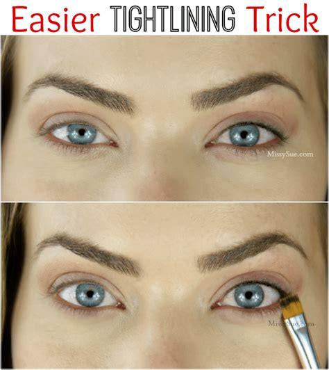 tutorial eyeliner tightline easier way to tightline missy sue