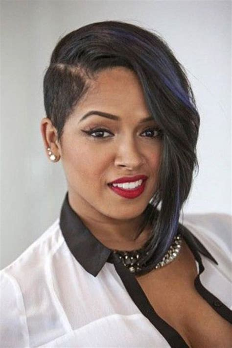 one sided black hairstyles 61 short hairstyles that black women can wear all year long