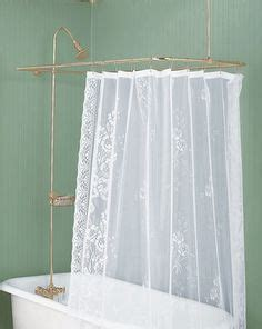 shower curtain surround 1000 images about shower parts curtain rods on