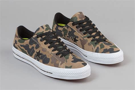 Converse Kulit Ox converse one pro ox camo sneakerfiles