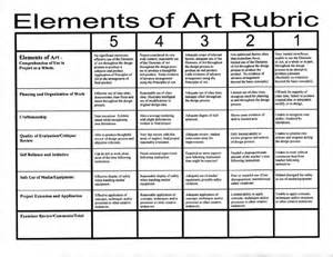 Visual Elements Of Essay by Elements Principles Of Rubric Elements Principles Principles Of