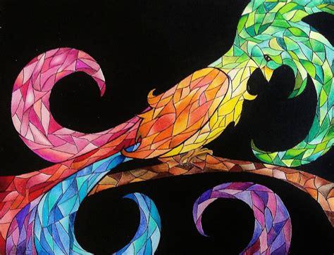 rainbow bird by inavangen on deviantart rainbow bird by vazest on deviantart