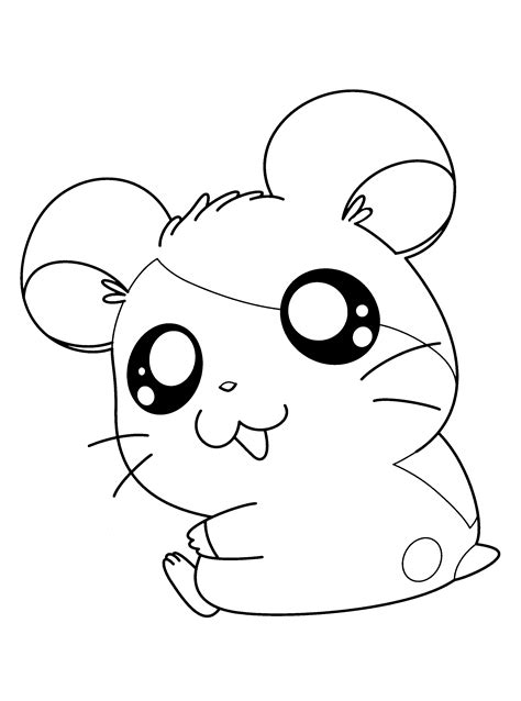 coloring page hamtaro coloring pages 45