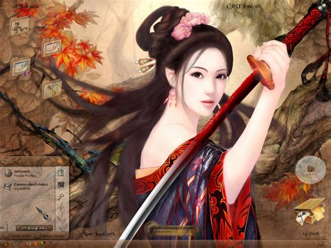 anime chinese girl wallpaper geisha s rebellion by scubabliss on deviantart