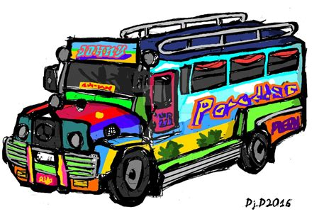 jeepney philippines drawing jeepney 1 by artngame215 on deviantart