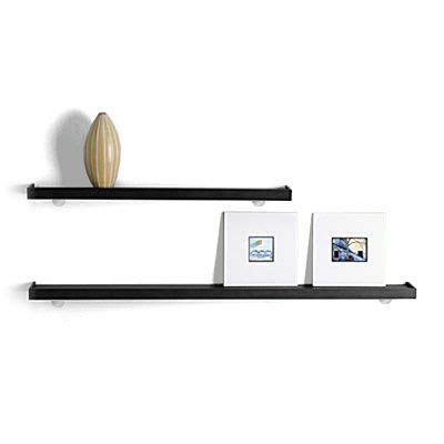 black tchotchke wall shelves shops shelves and shelving