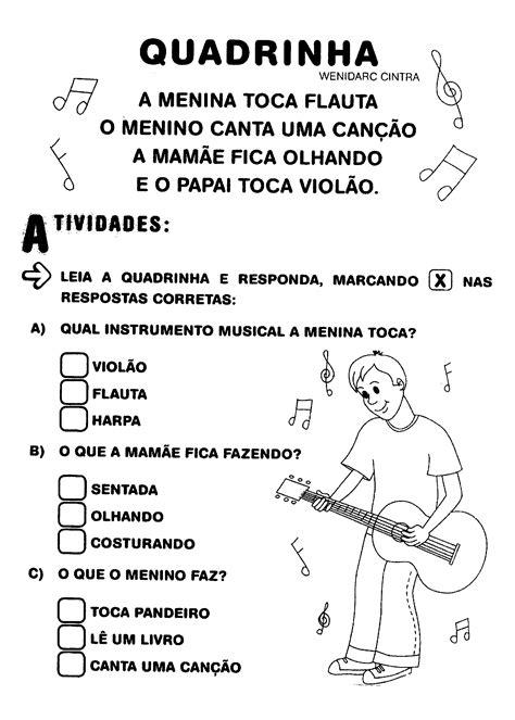 Poema Quadrilha | Rimas, Aulas de música para crianças