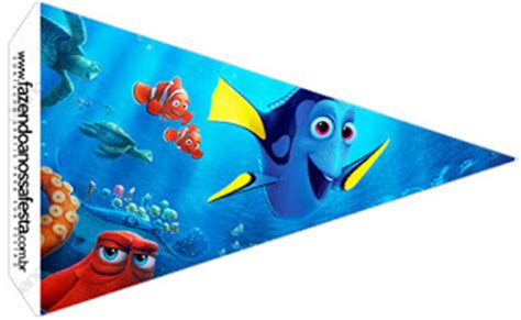 Flag Banner Finding Dory finding dory free printables oh my in