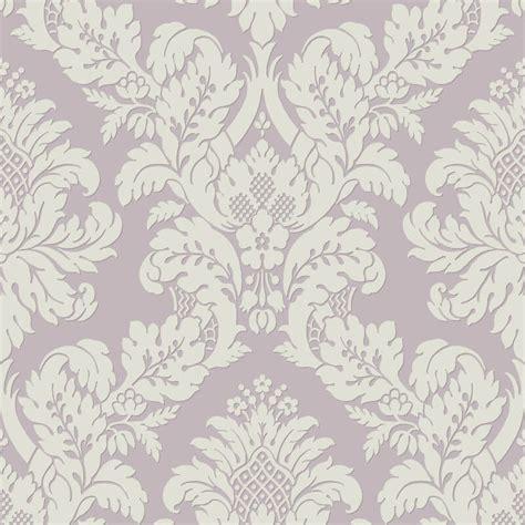 uk10481 pear tree fabric damask lilac white glitter