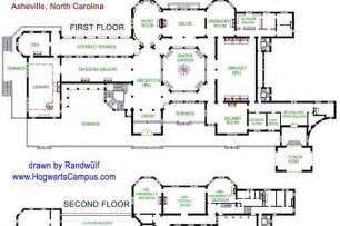 Biltmore Estate Floor Plan Castle House Plans Designs Blueprints Biltmore House
