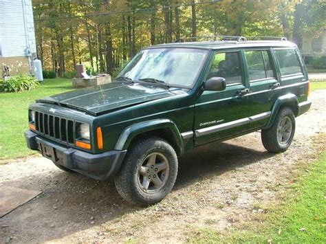 2001 Jeep Aftermarket Parts Buy Used 2001 Jeep Sport Utility 4 Door 4 0l