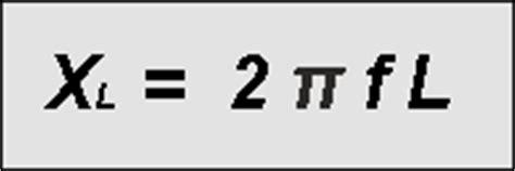 transpose inductive reactance formula inductive reactance formulae calculations radio electronics