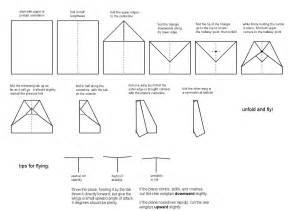 How To Make All Paper Airplanes - plans paper airplanes picture