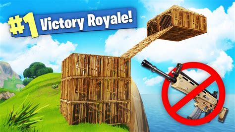fortnite without guns we won fortnite using no weapons