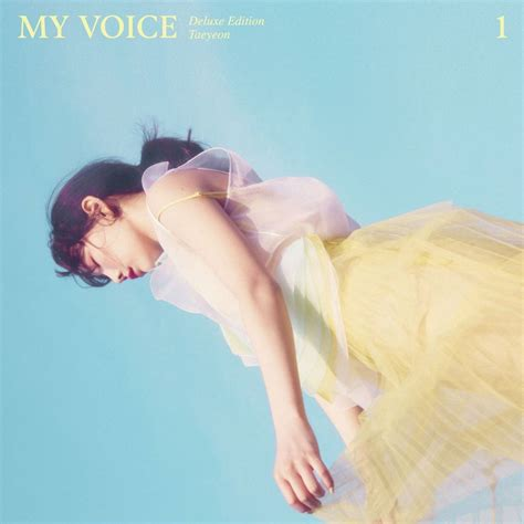 song mv review taeyeon my voice the 1st album deluxe edition make me you