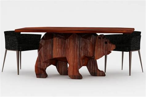 cool tables check out this beary cool table incredible things