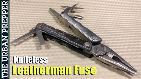knifeless multi tool leatherman knifeless fuse review
