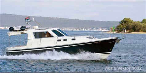 motorboot charter kroatien preisliste motoryacht adria 1002 vektor charter kroatien