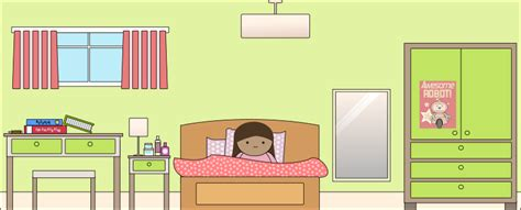 bedroom video clip free cartoon bedroom clip art