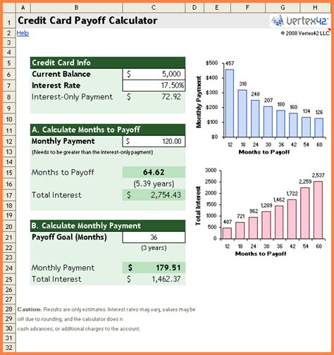 template credit card debt 12 credit card debt payoff spreadsheet excel