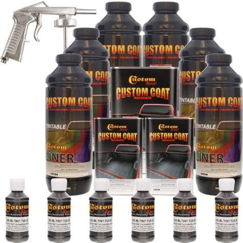 custom coat bed liner reviews 1best time review custom coat charcoal metallic 6 liter