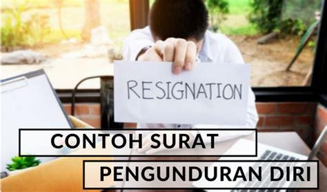 Surat Resign 2017 by 12 Contoh Dan Format Surat Pengunduran Diri Resign
