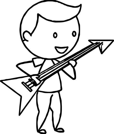 Electric Guitar Coloring Page by 26 Electric Guitar Coloring Pages Photograph
