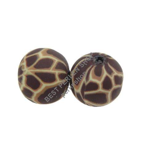 fimo perlen bps tier motiv polymer clay beads rund mm