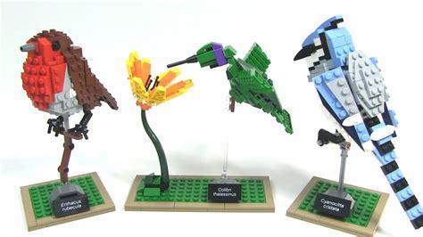 Lego Birds Set lego birds ideas 009 review lego 21301
