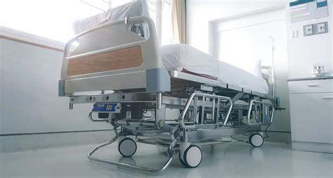empty hospital bed  hospital ward yaasa studios