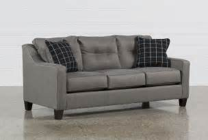 brindon charcoal sofa sleeper living spaces