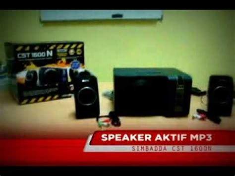 Speaker Simbadda Cst 1600n speaker aktif mp3 simbadda cst 1600n