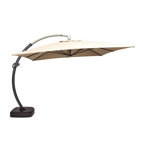 Offset Patio Umbrellas On Sale by Allen Roth Deluxe Offset Umbrella Base
