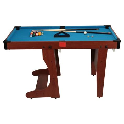 4ft pool table folding buy bce 4ft 6in folding pool table with snooker balls from