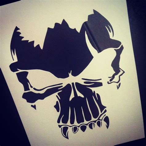Tattoo On Paper | skull tattoo paper cutting paper cutting pinterest