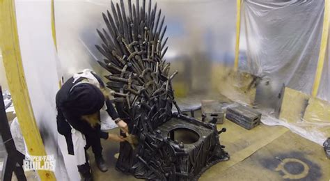 game of thrones toilet a fascinating look at building a game of thrones iron throne toilet designtaxi com