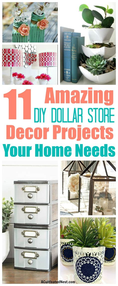 diy projects dollar store 11 diy dollar store home decorating projects a cultivated